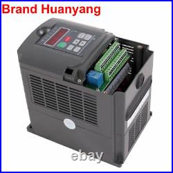 2.2KW 110V Water-cooled Spindle Motor+HY Inverter+Pump+Pipe+Clamp+Collet set