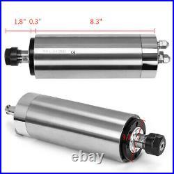 2.2KW Huanyang Inverter VFD ER20 Water Cooled Spindle Motor Pump Pipe Collet Set
