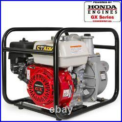 3 Inch Honda GX160 Gas Industrial semi Trash Portable Centrifugal Water Pump