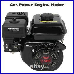 7.5HP 212CC Gas Powered Engine Motor Go Kart Log Splitter Water Pump US