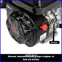 7.5HP 212CC Gas Powered Go Kart Log Splitter Water Pump Engine Motor A+