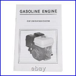 7.5HP 212CC Gas powered Go Kart Log Splitter water pump Engine Motor USA