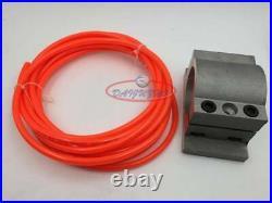 800W CNC Spindle Motor 110V Water-Cooled ER11 +1.5KW VFD Inverter+Bracket Pump