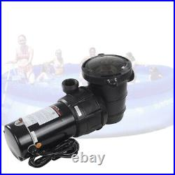 Above-Ground 1.5hp Swimming Pool Water Pump Motor Outdoor Strainer Spa 3450 RPM