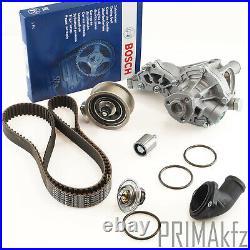 BOSCH Zahnriemen + Rollen Wasserpumpe Thermostat Audi A4 B5 VW Passat 1.8 1.8T