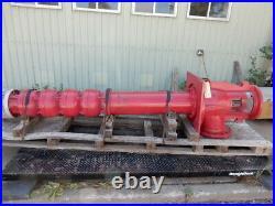Bell & Gossett 4 Stage Vertical Turbine Pump (no motor) 899 RPM 300' Head