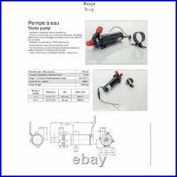 Espar Eberspacher Webasto water heater Quality Circulation Pump 12v 34094001