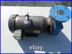 Federal Closed Coupled End 3 Suction Pump 2-1/2 Outlet with 7.5 Hp Baldor Motor