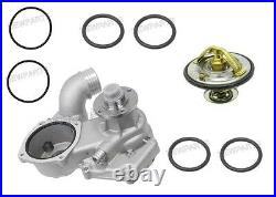 For BMW E31 m70 OEM Water Pump +85c Thermostat +O-Rings Engine Coolant Motor