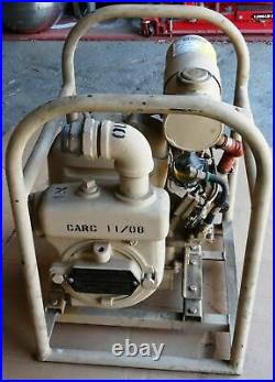 Gas Engine Centrifugal Water Pump- 4M-SG-2000 Mil Surplus- EC Schleyer, 65 GPM