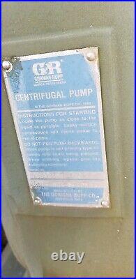 Gorman Rupp 6 Centrifugal Water Pump