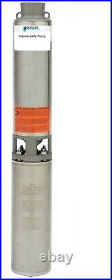 Goulds 13GS10422C Submersible Water Well Pump & Motor 1HP 230V 2 Wire 1PH