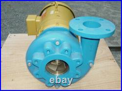 Goulds 3656 M Centrifugal Pump, 16BF2K9A0, 3x4-8 with7.5 HP Motor New Surplus