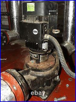 Grundfos Centrifugal Electric Water Pump 415V 3 Phase 2.2kW 50Hz Flood