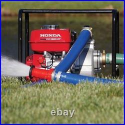 Honda WB20XT4A 164 GPM 2-Inch GX120 118cc General Purpose Centrifugal Water Pump