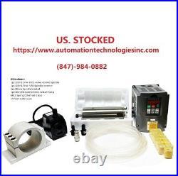 Hq Cnc Spindle Kit1.5kw 110v Water Spindle Motor+inverter+clamp+pump+pipe+er11