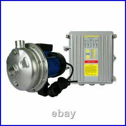 Industrial Solar Centrifugal Water Pump 750W Kits Pool/Ponds/Irrigation/ Garden