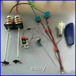 Motor Kit Water-cooled ESC+Water Pump Throw 12V 775 Device Set for RC Jet Boats