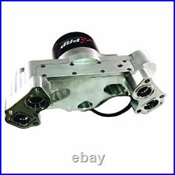 PRP 4550 Chevy LS Electric Race Water Pump, HD Motor for High Flow, Clear
