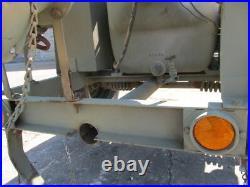 Pea Body Barnes Centrifugal 350 GPM Wisc. Engine Military Petroleum / water pump