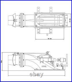 RC Jet Boat Water Thruster Jet Pump 29mm CNC Alloy Propeller 3660 KV1620 Motor