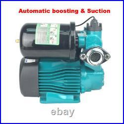 Self Priming Water Booster Pump Intelligent Control 220V 300W Copper Motor