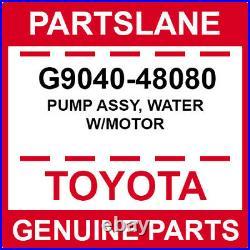 Toyota Highlander Lexus RX400H OEM Genuine Water withMotor Pump Assy G9040-48080