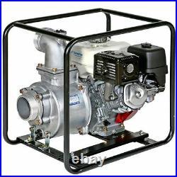 Tsurumi 3 Honda 5.5HP Gas Engine Centrifugal Water Pump