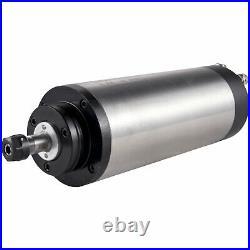 VEVOR 1.5KW ER11 Water Cooled Spindle Motor VFD Clamp Pump Pipe Collect 220V