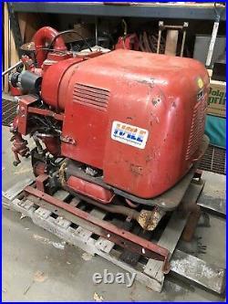 Vintage HALE 45FP-VW53 Fire Water Pump VW Volkswagen Industrial 127 Engine Motor