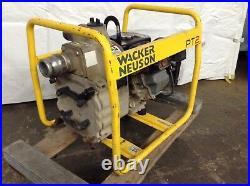Wacker Neuson PT2 Centrifugal Water Pump 2 Trash Gas Powered Well Sump Pumps