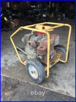 Wacker PT4B 4 Water Trash Centrifugal Pump FREE SHIP With 25 MILES ONLY