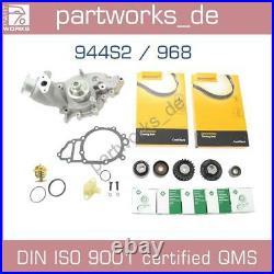 Wasserpumpe + Zahnriemen Für Porsche 944s2 944 S2 968