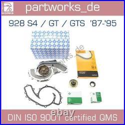 Wasserpumpe Zahnriemen Laufrollen Dichtung Für Porsche 928 S4/gt/gts'87-'95 Set