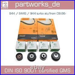 Zahnriemensatz Für Porsche 924s/944/944 Turbo Ab'87- Zahnriemen Laufrollen Set